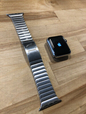 $ CDN1.24 • Buy Apple Watch Series 3 Stainless With Stainless Band