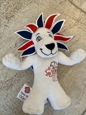 London 2012 Lion Plush Olympic Games Team GB Mascot Soft Toy 13  Collectible • 0.99£