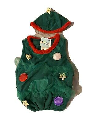 Child Christmas Tree Costume One Size • 3£