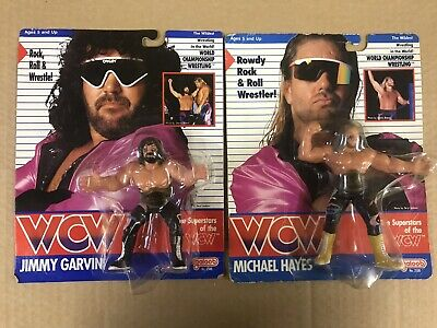 $ CDN4316.33 • Buy WCW GALOOB FABULOUS FREEBIRDS GARVIN HAYES MOC UK EXCLUSIVE Wrestling VINTAGE