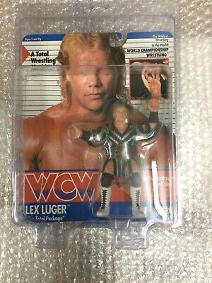 $ CDN6045.28 • Buy WCW GALOOB MOC ERROR CARD PRE RING LEX LUGER UK EXCLUSIVE Wrestling Figure