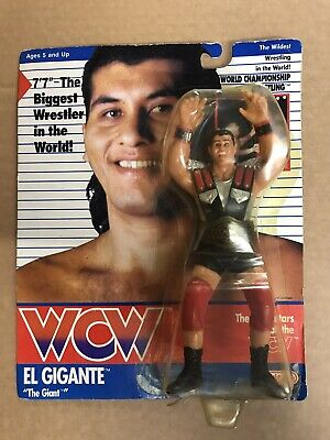 $ CDN1295.42 • Buy WCW GALOOB MOC EL GIGANTE UK EXCLUSIVE Hasbro Mattel Ljn Wwe