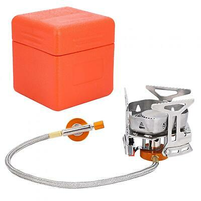 £11.44 • Buy Mini Camping Stove Windproof Fuel Saving Folding Gas Stove Outdoor Portable Oven