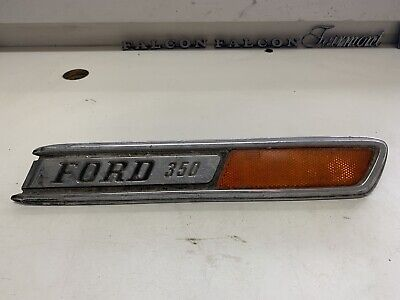 AU20 • Buy Ford F 350 Drivers Side Right Hand Mudguard Fender Badge