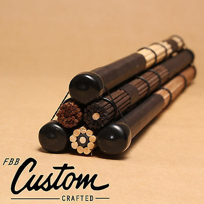 AU30 • Buy 3Pairs FreePost! Fbb's Handmade: 5A 5B Drum Brushes Rods Drumsticks Brush Sticks