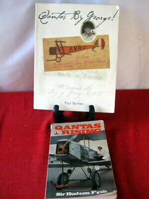 $8.39 • Buy QANTAS BY GEORGE - Story Of George Roberts -Early Flight In Australia - Aviation