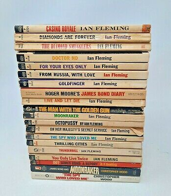 $125 • Buy James Bond 007 Ian Fleming Plus Others Lot Of 20