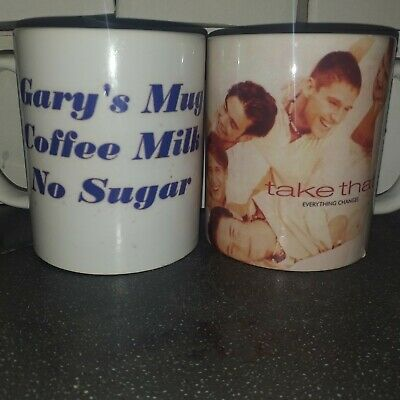 £5 • Buy Take That Everything Changes Mug Can  Personalise With Message New Boxed