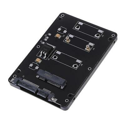 AU7.55 • Buy Mini Pcie PCI-E MSATA SSD To 2.5  SATA3 Adapter Card With Case 7 Mm Thickness