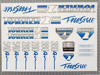AU40 • Buy Torker 2 Freestyle Decal - 280 360 540 Air - Old School 80s BMX Bike Stickers .