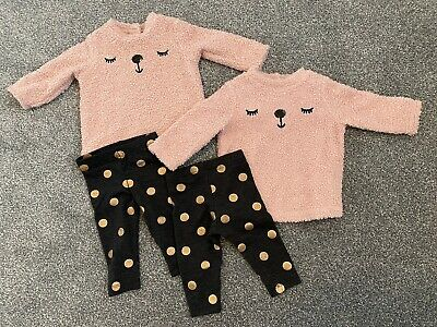 AU8.89 • Buy 2 Twin Girl Outfits Clothes 0-3 Months
