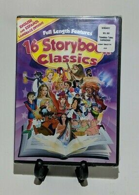 £9.20 • Buy Childrens 16 Storybook Classics - DVD'S They Are Animated Classics Two Discs