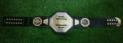 $124.99 • Buy UFC Legacy Championship Replica Title Belt 2mm Plates Genuine Cow Hide Leather