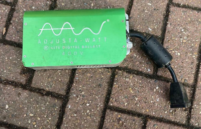 Used 1000w 400v Adjustawatt Digital Dimmable Ballast *CHESHUNT HYDROPONICS* • 70£