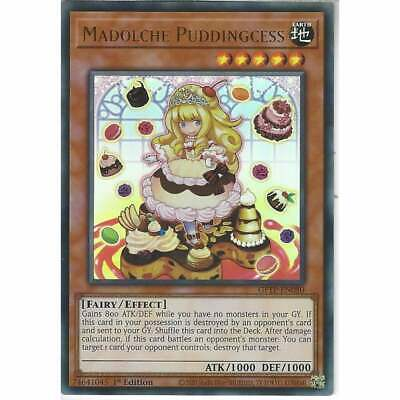 £1.20 • Buy GFTP-EN080 Madolche Puddingcess | 1st Edition Ultra Rare YuGiOh Trading Card TCG