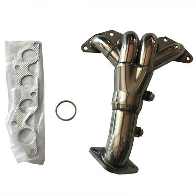 $55.39 • Buy For 01-05 Honda Civic DX/LX 4CYL 1.7L Stainless Steel Exhaust Header Manifold