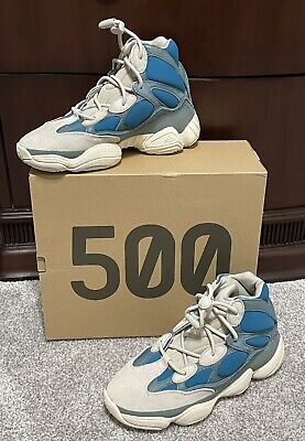 $ CDN438.62 • Buy Adidas Yeezy 500 High•Frosted Blue•Size 8•New With Tags