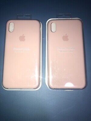 $ CDN9.78 • Buy Lot Of 2pc Apple Silicone Case For IPhone XS Max MTFD2ZM/A - Pink Sand