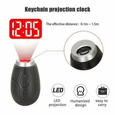 £7.19 • Buy Mini Digital Projection Clock LED Clock Wall Ceiling Time Projection Watch UK