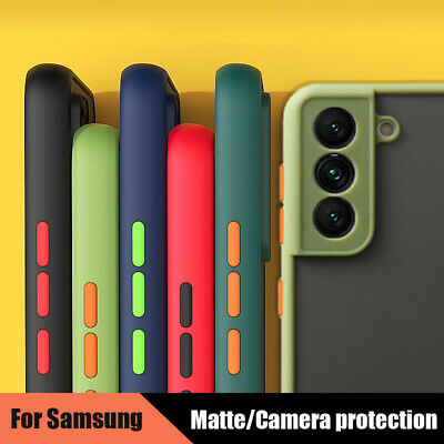$ CDN5.09 • Buy For Samsung Galaxy S21 Ultra S20 FE Note 20 A52 A72 Matte Clear Hard Case Cover