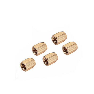 £4.08 • Buy 5x Brass Guitar Truss Rod Nut For Les Paul Replacement Accessory