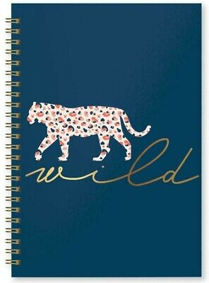 A5 Hardcover Spiral Wirobound  Notebook Journal Notepad Office School Diary  • 3.99£