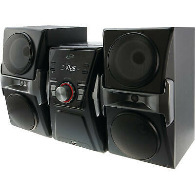 £73.46 • Buy Bluetooth Home Music System Mini Stereo W/ FM Tuner, LED Lights, CD Player, USB