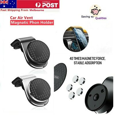 AU13.89 • Buy 360° Rotation Car Phone Holder Universal GPS Magnetic Vent Mount Stand