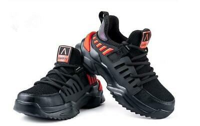 AU48.79 • Buy Men's Lightweight Safety Shoes Steel Toe Cap Hiking Work Boots Sneakers Trainers