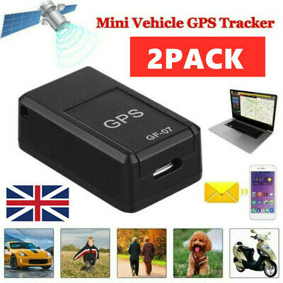 £12.89 • Buy 2X Mini GSM/GPRS Tracker Magnetic Car Spy LBS Real Time Tracking Locator Device