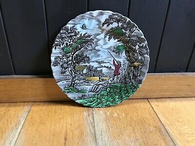 £20.21 • Buy The Hunter A Fine Plate Depicting A Hunting Scene By Myott Potteries.
