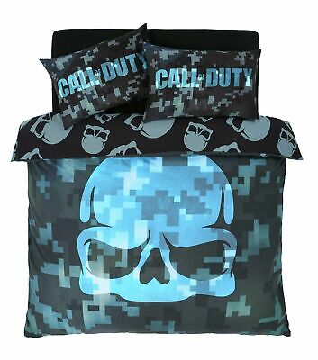 £29.95 • Buy Call Of Duty Reversible Double Duvet And Pillowcase Bedding Set Cotton NEW Gift