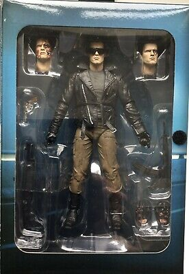 £39.95 • Buy TERMINATOR ULTIMATE POLICE STATION ASSAULT T - 800 FIGURE By NECA