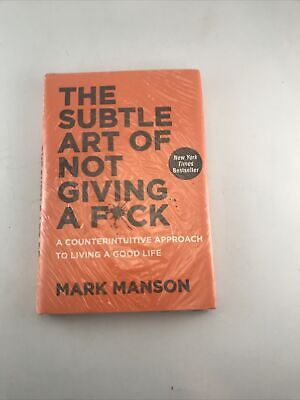 AU24.44 • Buy The Subtle Art Of Not Giving A Fck Counterintuitive Approach To Living Good Life