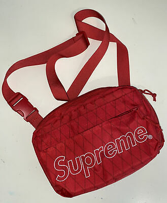 $ CDN100.71 • Buy Red Supreme Shoulder Bag FW18 Used Great Condition
