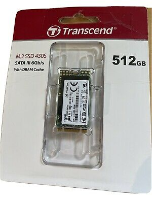 AU0.99 • Buy Transcend 128GB SATA III 6Gb/s MTS430S 42 Mm M.2 SSD Solid State Drive (TS128GMT