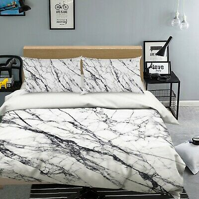 AU116.99 • Buy 3D White Crack NAO2608 Bed Pillowcases Quilt Duvet Cover Set Queen King Fay
