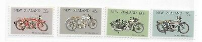 AU5.20 • Buy 1985 Vintage Motorbikes Set Of 4  Complete MUH/MNH As Issued