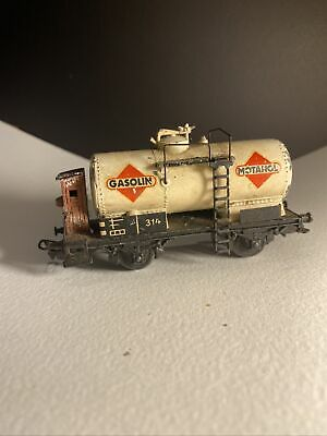 $ CDN241.81 • Buy Marklin 314G Tanker Wagon Gasolin Metanol In Vintage Condition