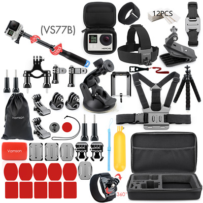 $ CDN72.41 • Buy For Gopro Accessories Set For Go Pro Hero 9 8 7 6 5 4 Sports Gopro Accessories