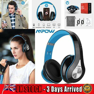 £22.99 • Buy Mpow Bluetooth Headphones Over Ear Hi-Fi Stereo Foldable Soft Memory-Protein Mic