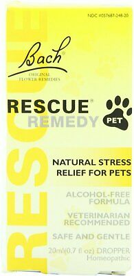 Rescue Remedy Pet By Bach Flower Remedies, 20 Ml • 16.86£