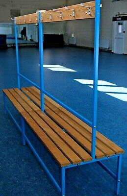 £145 • Buy School, Sports, Gym, Club, Changing Room, Cloakroom, Double Sided Bench.