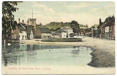 £4 • Buy Chalfont St Giles From East Of Pond Postmark 1907