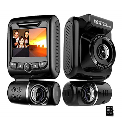 AU150.23 • Buy Dash Cam For Cars Front And Rear Dual Car Driving Camera Wifi Full HD 1080P With
