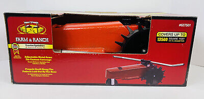 AU344.99 • Buy Farm And Ranch Self Propelling Tractor Sprinkler Red (Brand New)