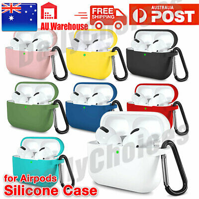 AU5.45 • Buy For Apple AirPods Pro Case Airpods 3 Case Shockproof Silicone Cover Slim Skin