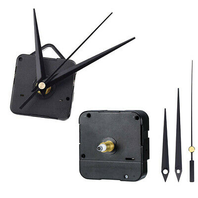 AU9.69 • Buy Silent DIY Quartz Movement Wall Clock Motor Mechanism Long Spindle Repair Kit