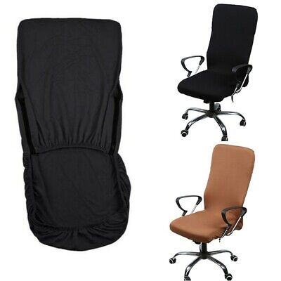AU16.18 • Buy Elastic Computer Office Rotating Chair Seat Cover Stretch Slipcover Protector