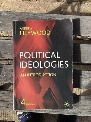 £5.50 • Buy Political Ideologies: An Introduction By Heywood, Andrew Paperback Book The